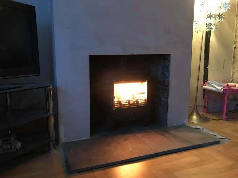 Acr malvern multi fuel stove and chimney re line in elms vale, Dover